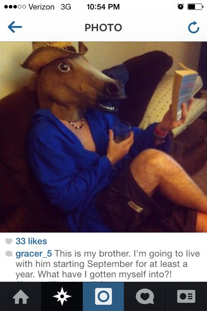 Horse Man on Instagram