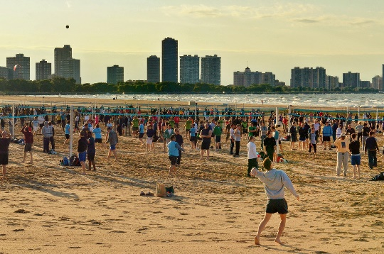 Summer In Chicago Rabble Rouse The World Beach Volleyball By Soaringbird